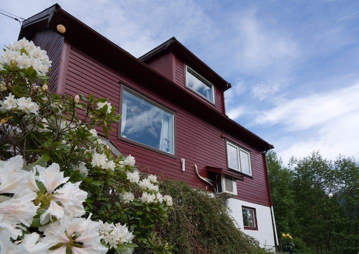 Solhaug - Sunhill Fjord House near Geiranger