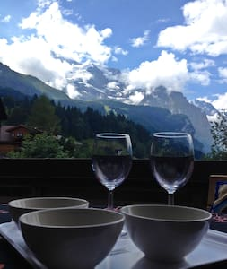 Apartment with balcony in WENGEN - Appartamento