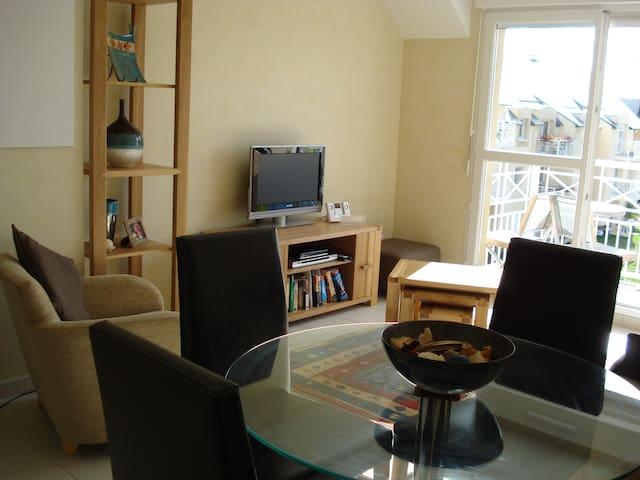 Petit bijou apartment - Port-en-Bessin-Huppain - Apartamento