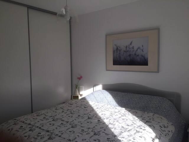Deux chambres dans un  confortable plain-pied