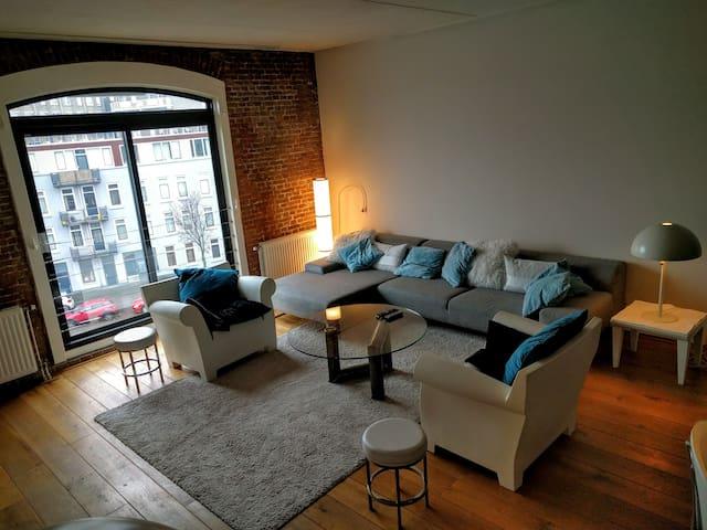 Amerika in Rotterdam (3-Level Loft) - Rotterdam - Apartment