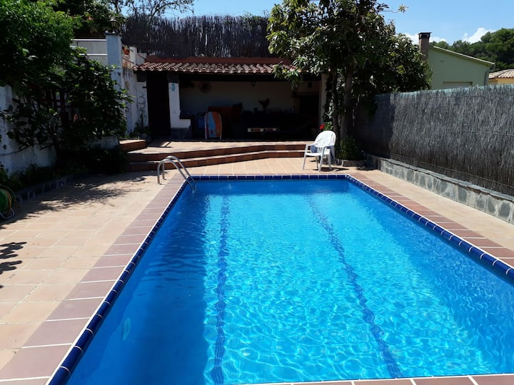 House with pool Resedencial Blanes Costa Brava