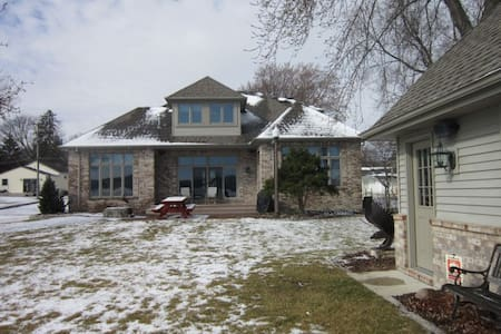 US Open, Erin Hills, 7 miles to Pike Lake Home - Hartford - House