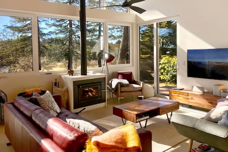 Spectacular Sun-Filled Mountaintop Eco-House
