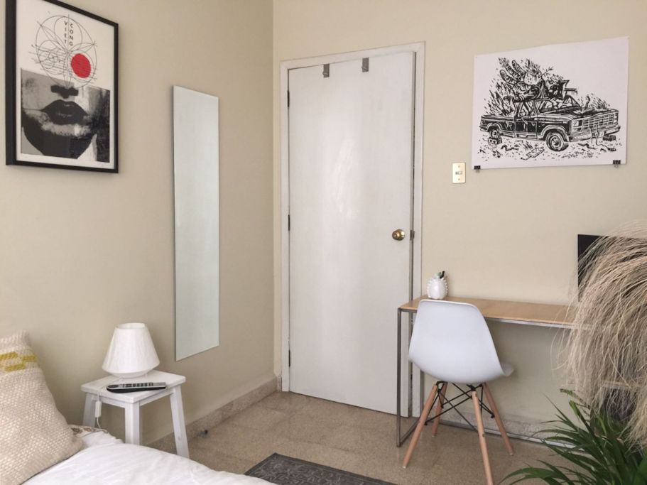 Bedroom - Desk area