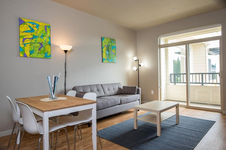 Newly built upscale one-bedroom near Intel/Nike - Hillsboro - Apartamento