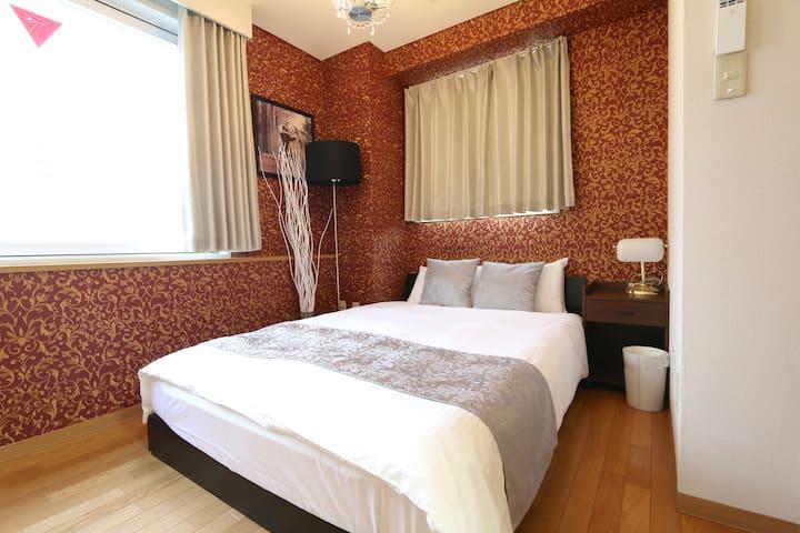 NM52 LizOsakaCastle Modern luxury and Cozy! 2BEDRM