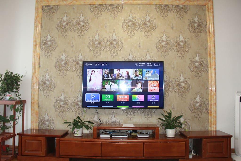 55寸WIFI电视