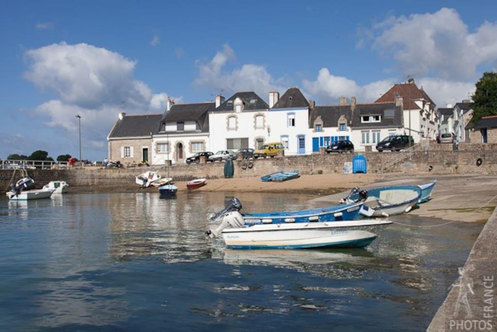Petite maison de p cheur sur la ria d 39 etel houses for - Maison de pecheur bretagne ...