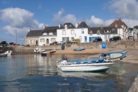 Petite maison de pêcheur sur la Ria d'Etel - Plouhinec - บ้าน