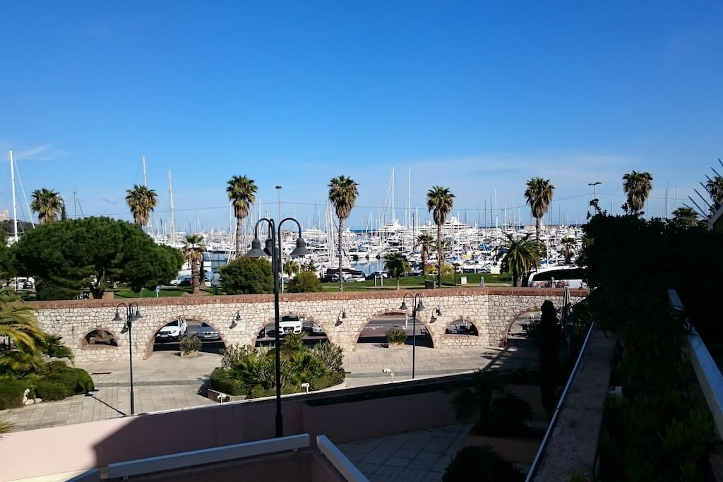 View from the Resident Port Vauban