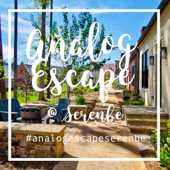 The Analog Escape @ Serenbe (Escape The City)