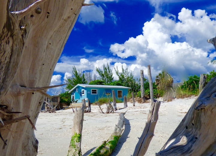 Driftwood Cottage: lovely home right on the beach!