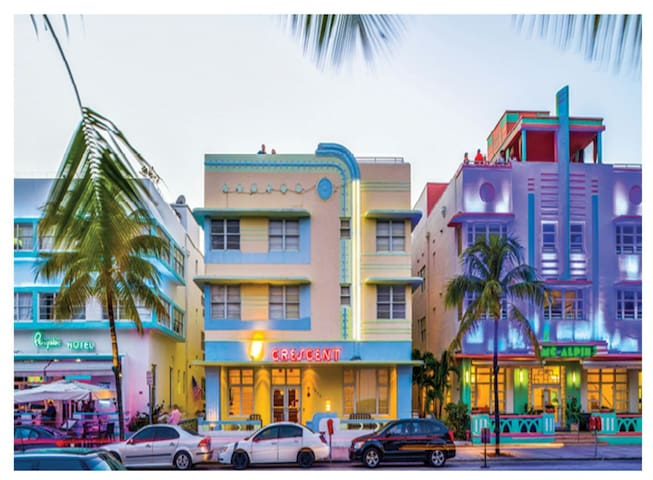 Excellent location!! Right on Ocean Dr.!