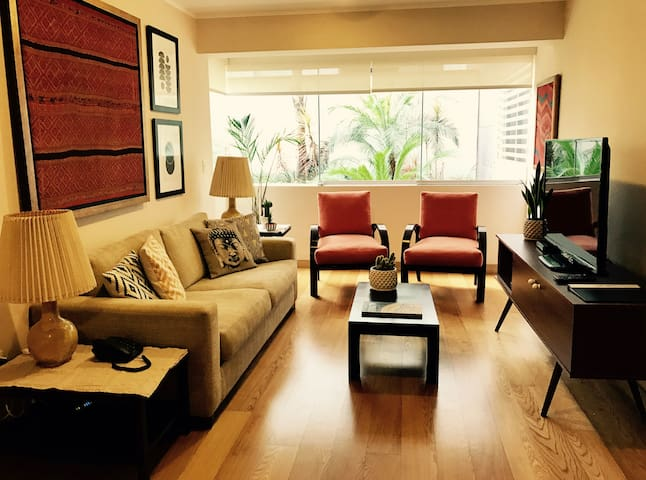 Beautiful apt in the best location of Miraflores! - ลิมา - อพาร์ทเมนท์