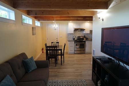 Fresh new 2BR in-law unit with private entrance