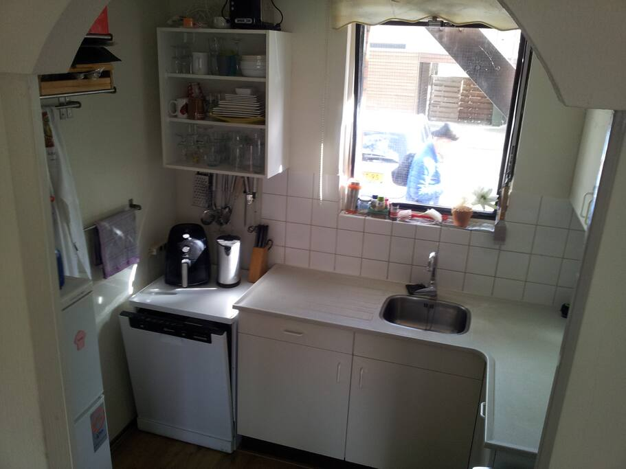 a fully equiped kitchen
