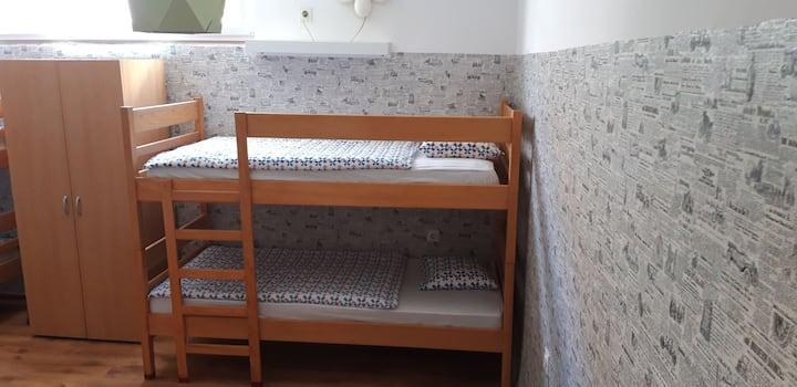 Green Hostel Bed in No.1  Mix Dorm