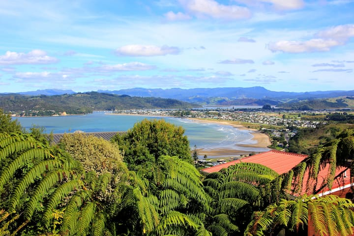 Little room up the top of a beautiful town - Whitianga - House
