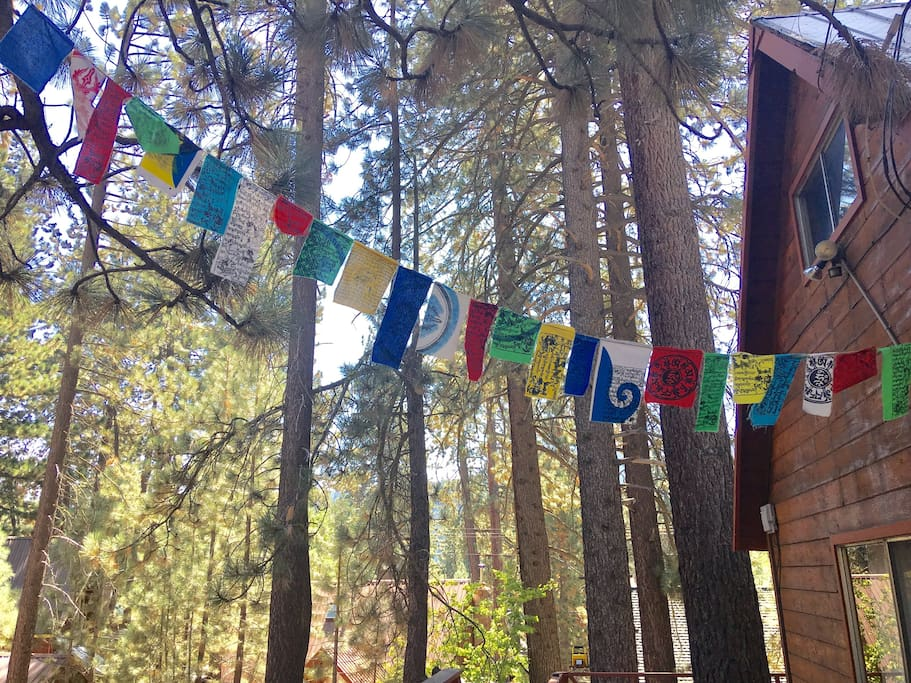 Prayer flags to welcome you :)