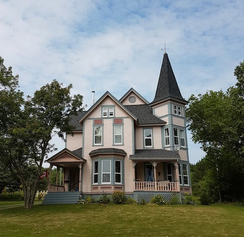 The Pink House, St. Martins, NB