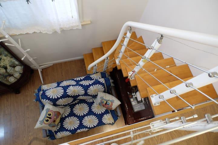 特色LOFT楼梯,小朋友都会喜欢哦