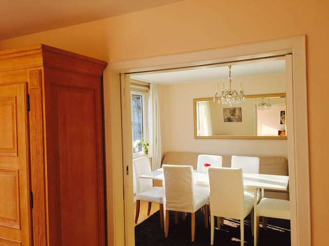 Central, luxurious and calm 106 sq apartment - Freiburg - Apartmen