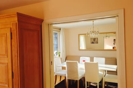 Central, luxurious and calm 106 sq apartment - Freiburg - Wohnung