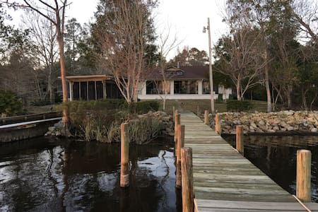 Waterfront Home in West Pensacola, Florida - Pensacola