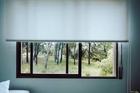 Apartamento en plena naturaleza, 300m de la playa.