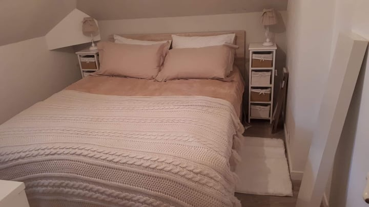 Chambre cocooning agreable