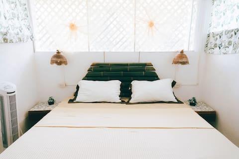 Private bedroom on 2nd floor