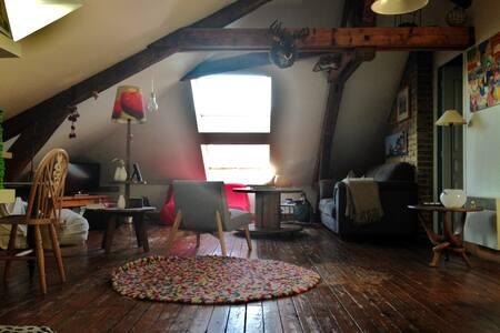 Appartement esprit loft sous les toits - Le Havre - Huoneisto