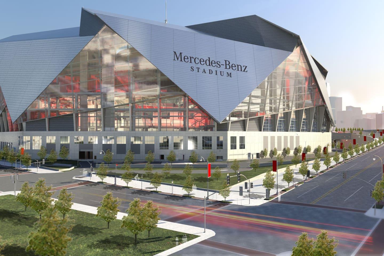 New Mercedes Benz Stadium