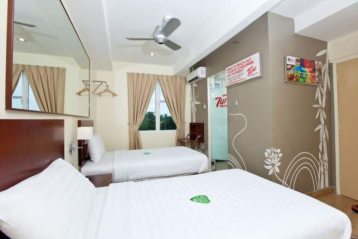 Tune Hotel Georgetown, Penang - Twin Room
