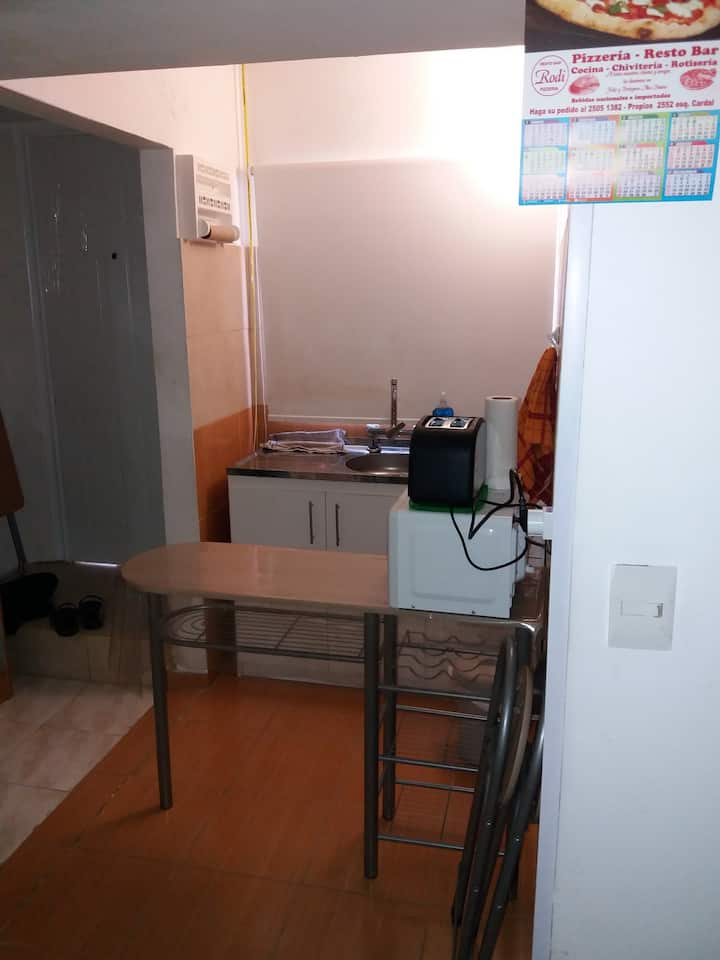 Full equipped and well located Apt.