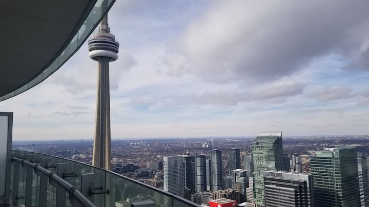 #1 Room in the Clouds/Cn Tower View/ High floor.