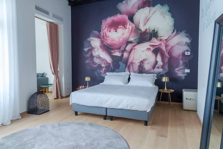 PAEONIA Room Matrimoniale Delux in boutique hotel