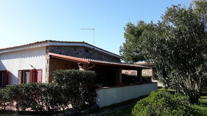 Villaggio costa del sole in front of the sea