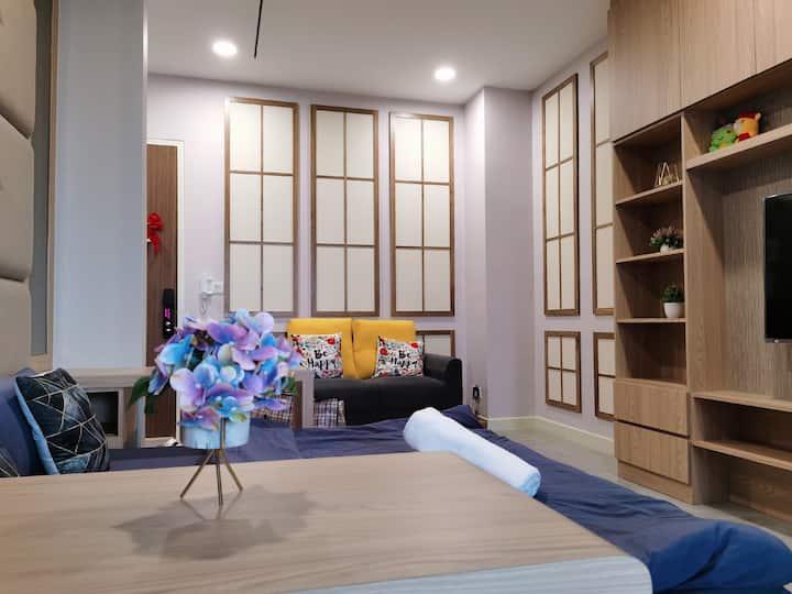 Imperio Residence@Melaka B2811高级日式传统文化套房