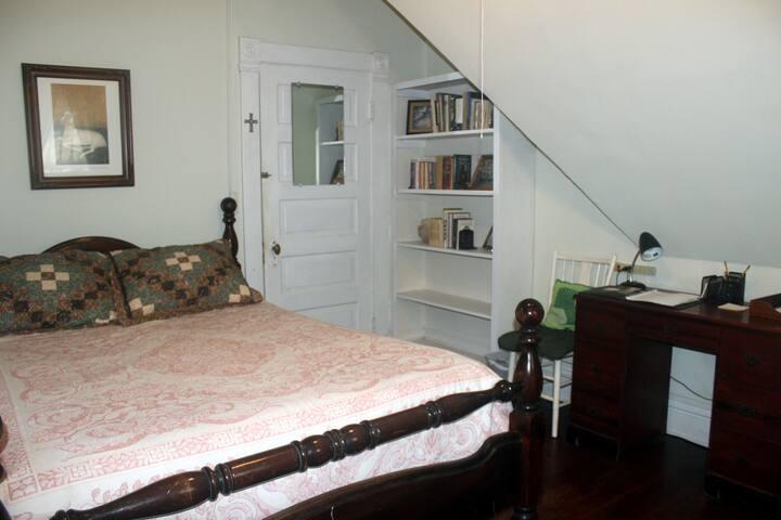 Queen-size bed