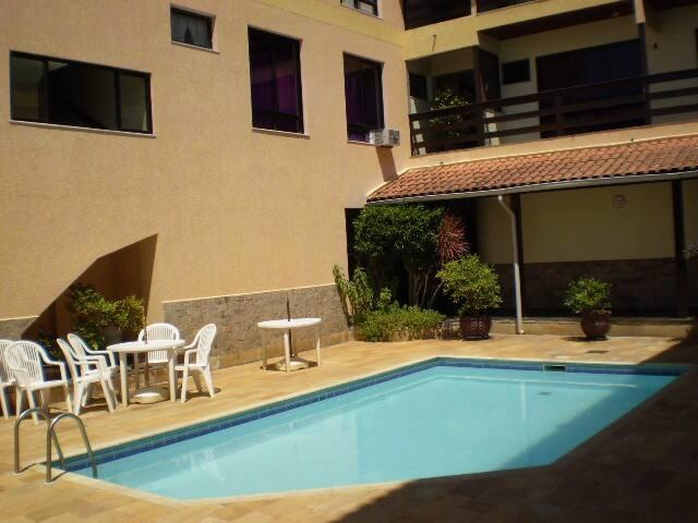 Fantastisc apartment: Pool, Barbecue, Itauna Beach - Saquarema - Leilighet
