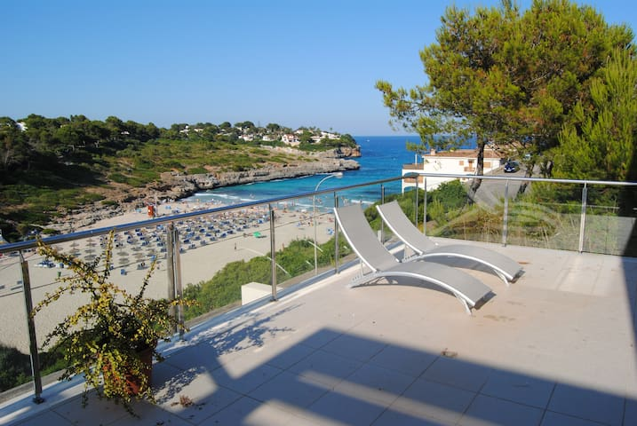 Beach house with swim-pool - Cala Anguila-Cala Mendia - Lägenhet