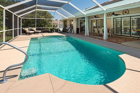The Beach House -  just 10 min. to Ft Myers Beach!