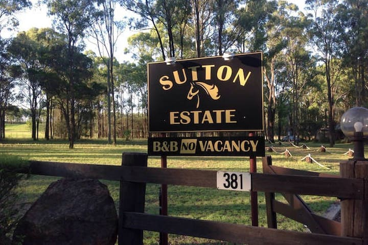 We look forward to hosting your stay at Sutton Estate