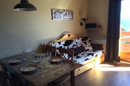 Appart 4 pers avec Piscine - Risoul - Apartment