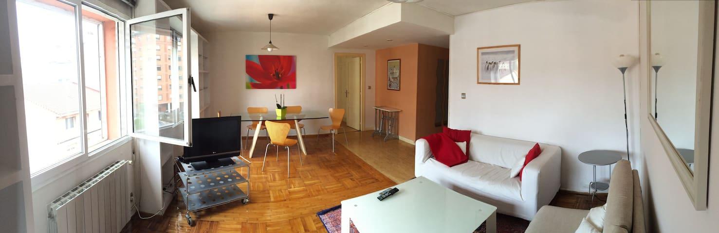 Luz, amplitud y cercanía - Oviedo - Apartment