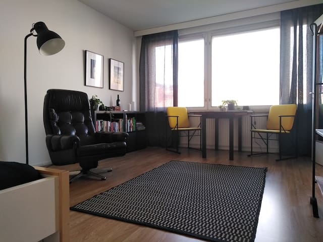 Peaceful, homely Studio within the City Centre