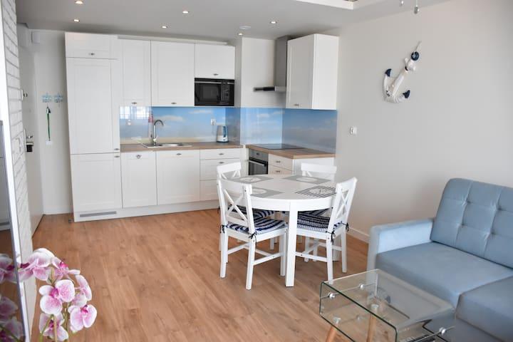 "Balticum Apartments - ""Bliżej Morza"" with garage"