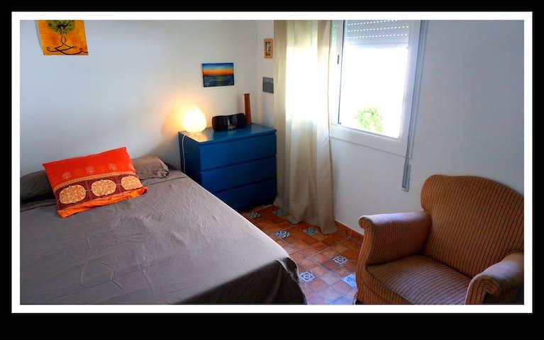 Beautiful exterior double room in Gràcia - Barcelona - Pis